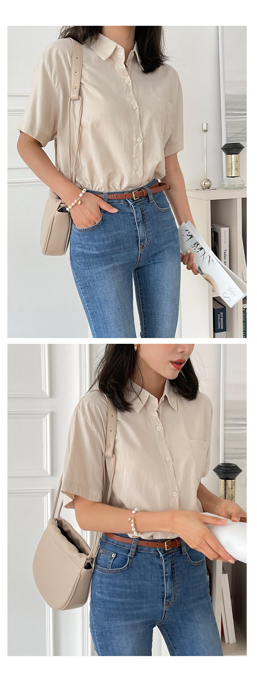 Days Linen Short Sleeve Shirt
