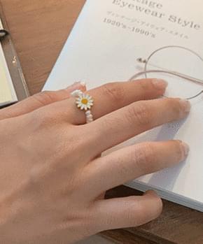 Solar Pearl Ring