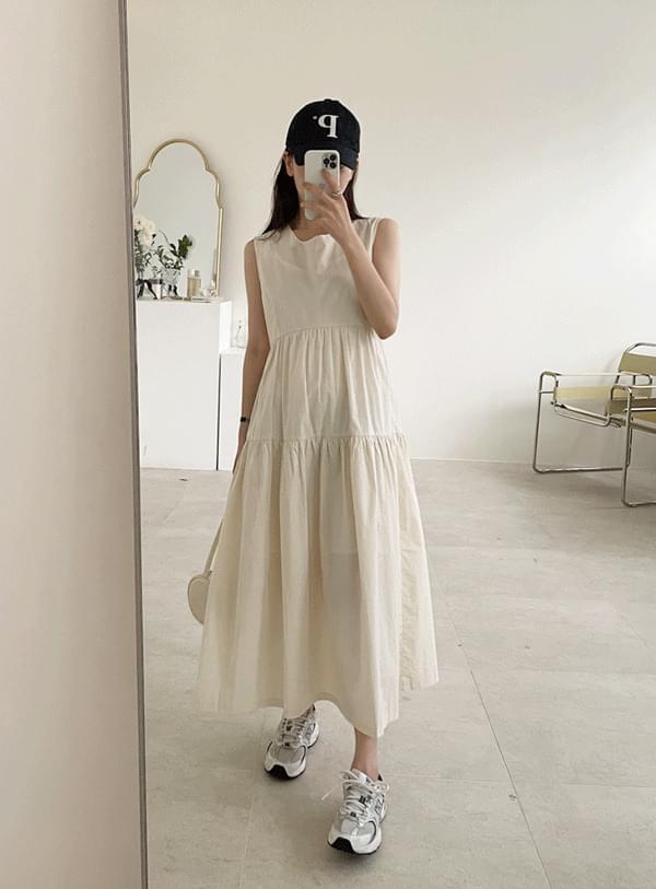 Cancan Sleeveless Dress