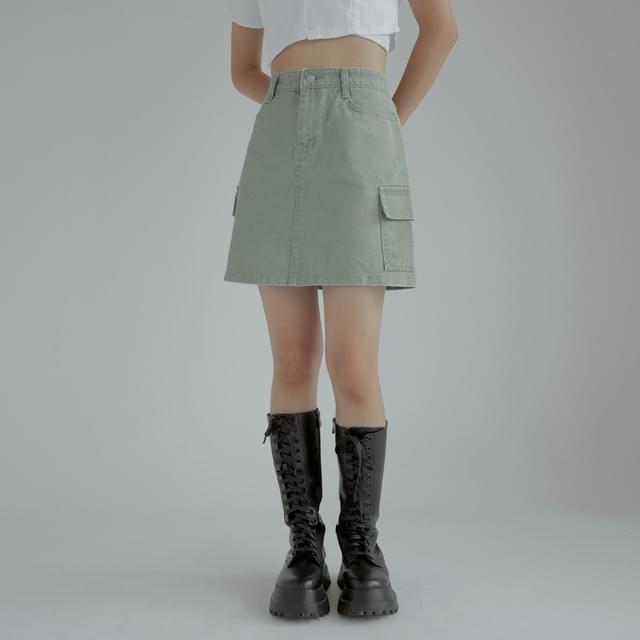 Walter Cargo mini skirt