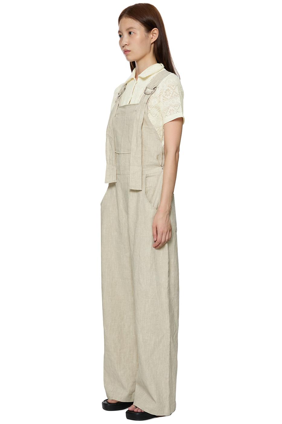 Hopper Linen Overall Jumpsuit