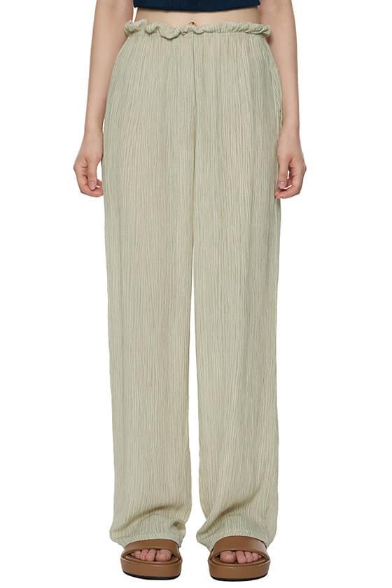 Soft Wrinkle Long Pants
