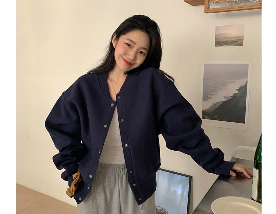 Cushion Sweatshirt Jacket