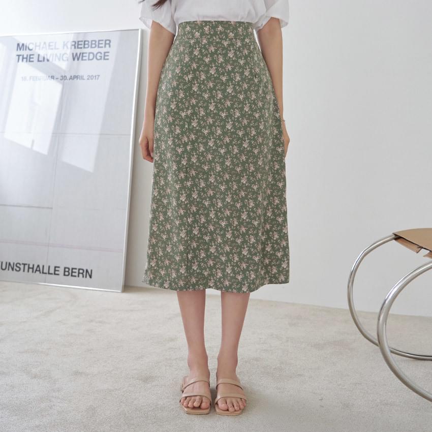 Elfin Flower Banding Skirt 裙子