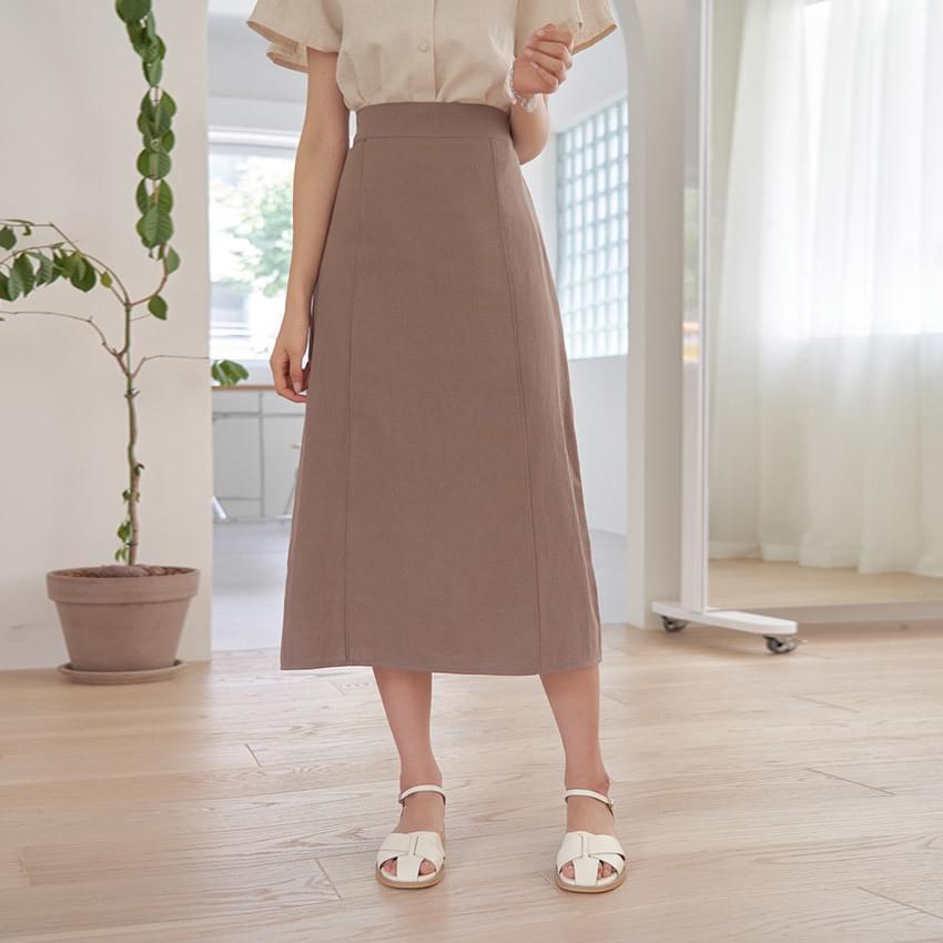 Use Linen Banding Skirt 裙子