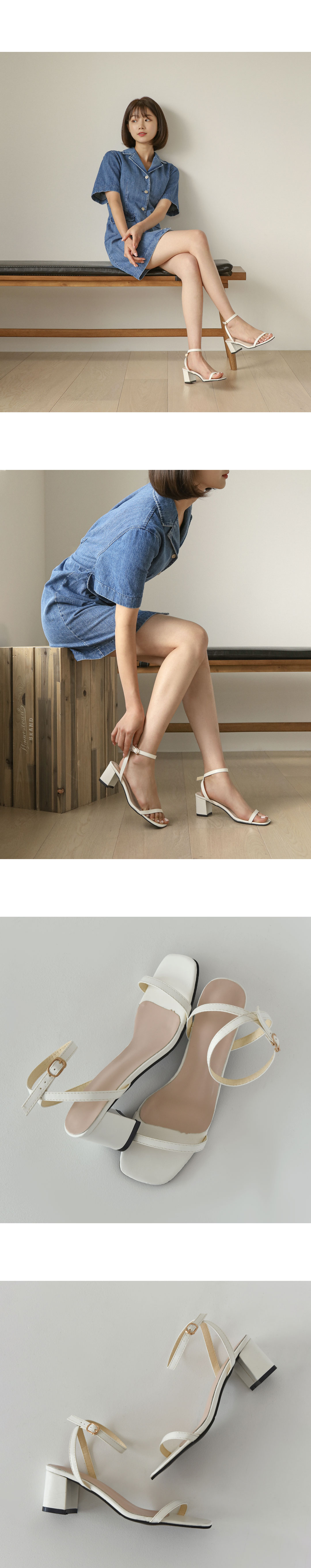 Radia Mary Jane Sandal Heel SDLTS2d139