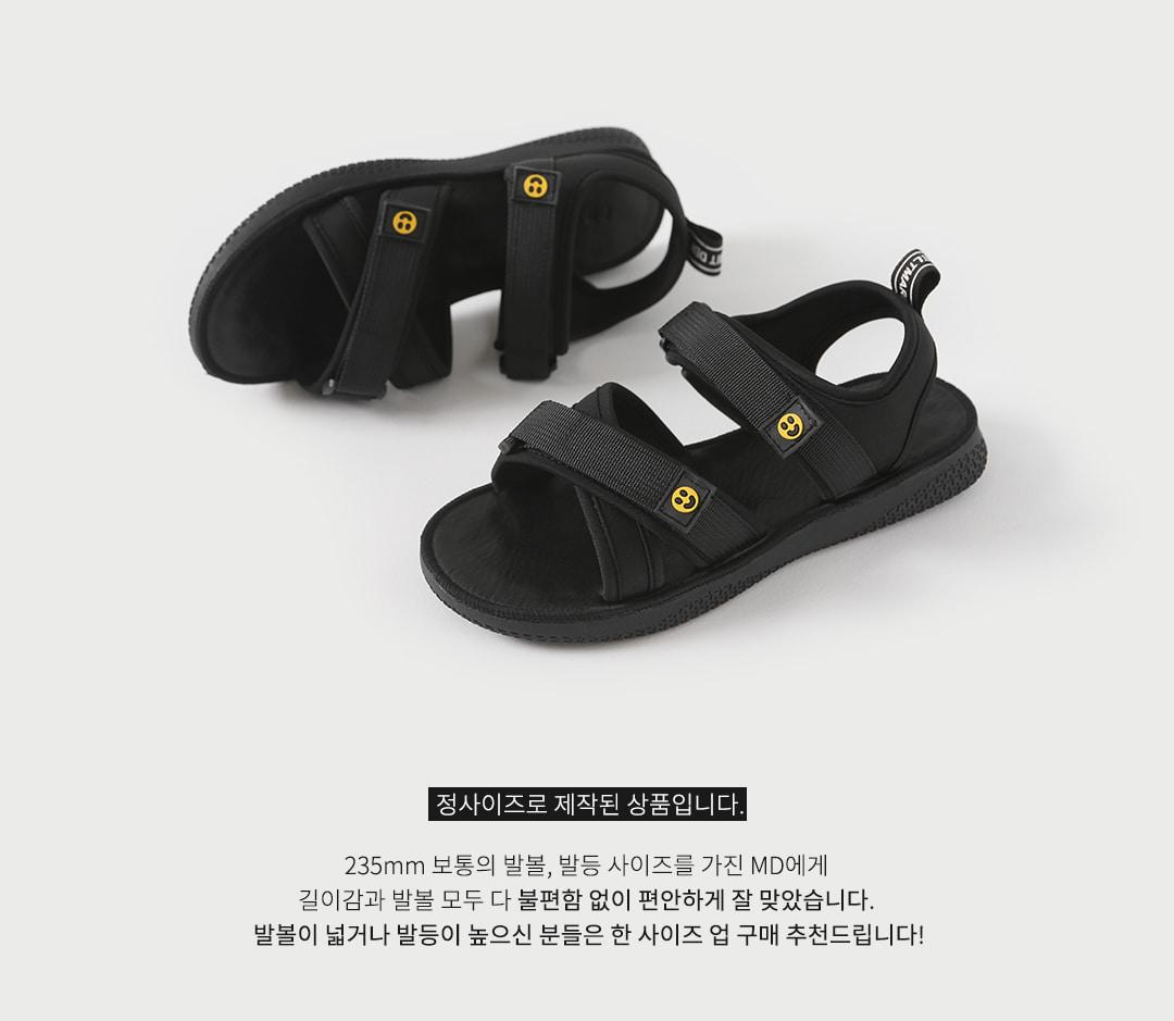 Rat Velcro Strap Sandals SDFBR2d137