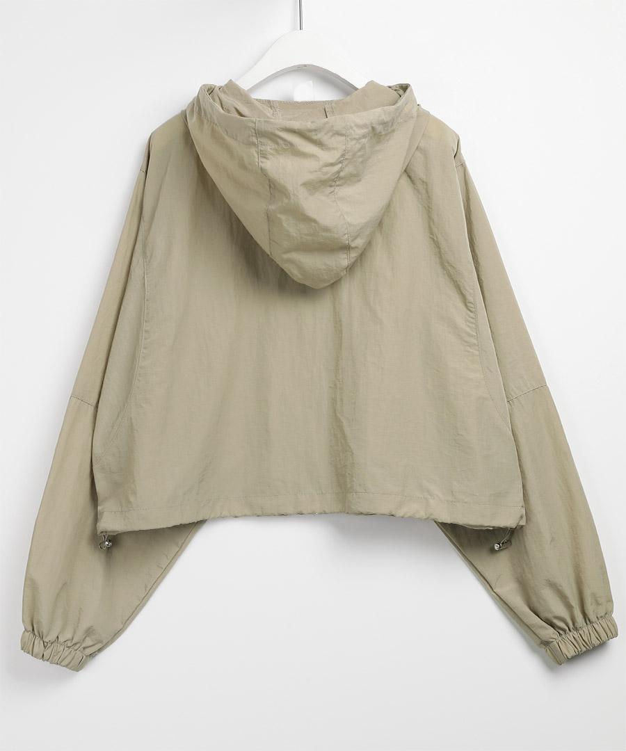 Fiber nylon hooded Jacket