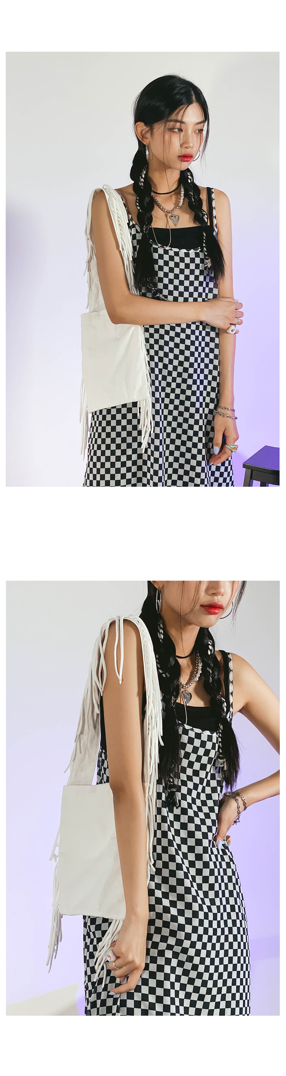 fringed hidan crossbody bag