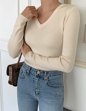 Olson #Slim V Knitwear
