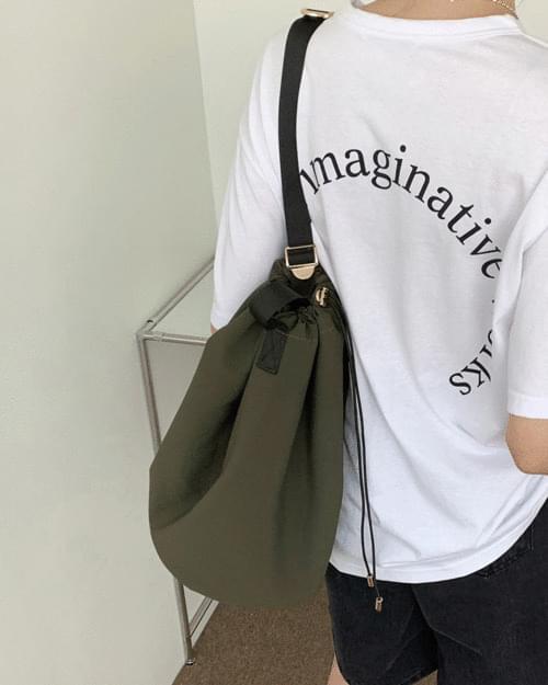 Yochi Casual String Buckle Bokjori Crossbody Bag