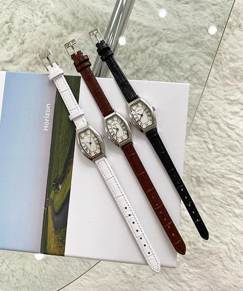 howell silver watch -3color
