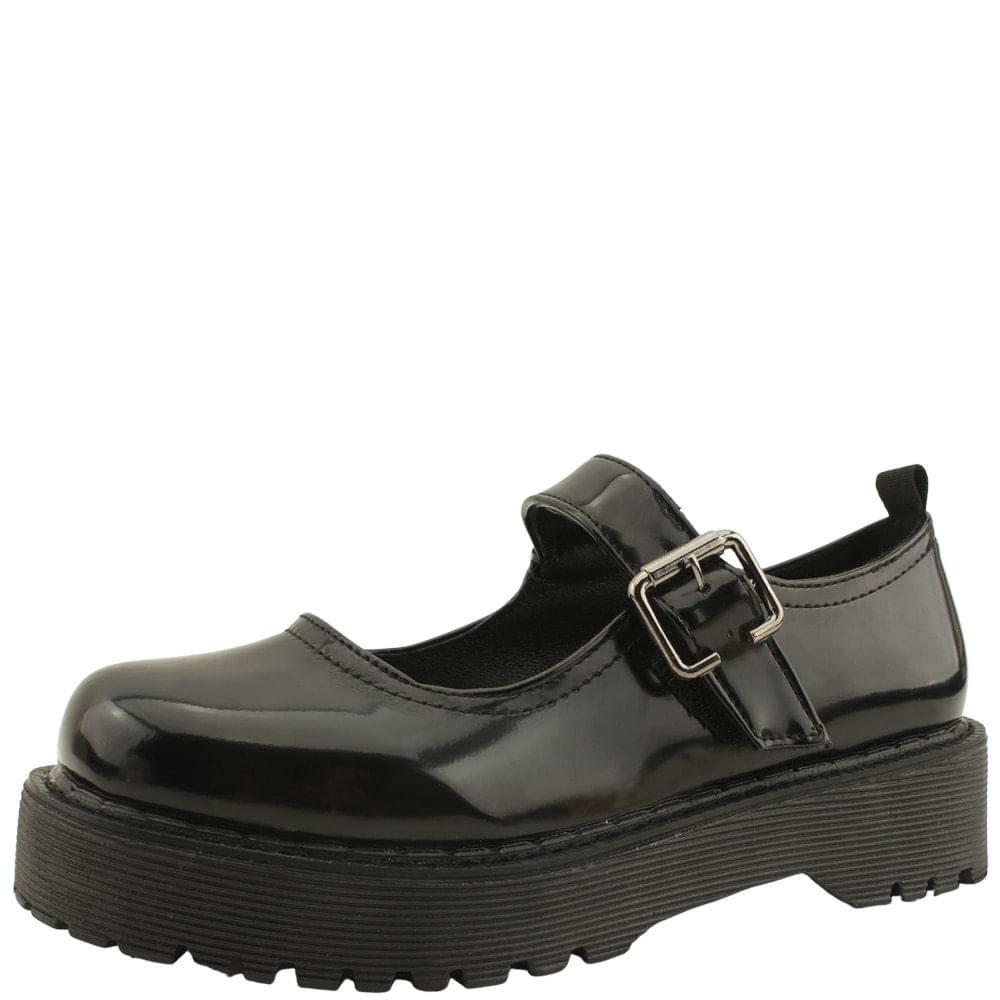 mary jane low heels loafers shoes