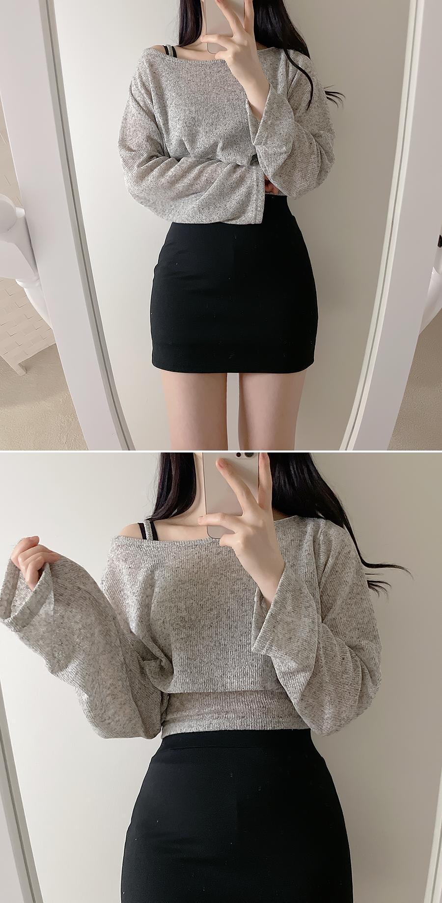 Body Correction H-line Skirt Pants 2color