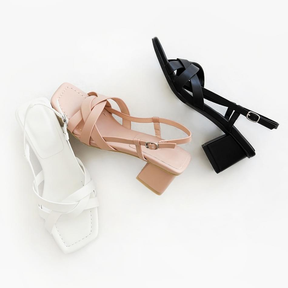 Rose Teapot Slingback Sandals 5cm 涼鞋