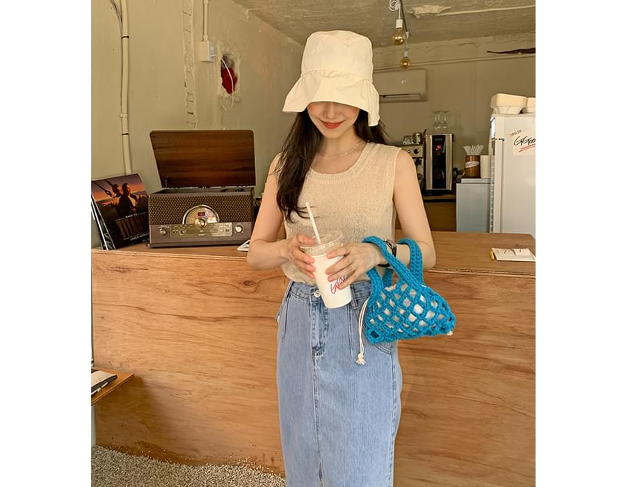 net color mini bag