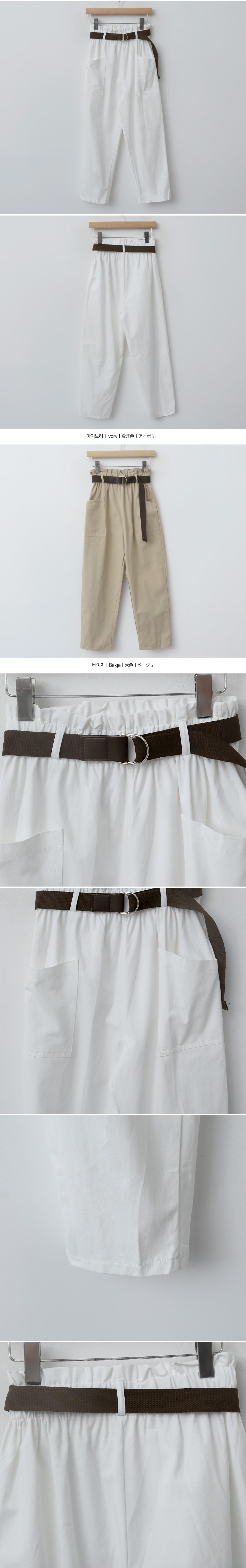 Belt Boy Band Pants