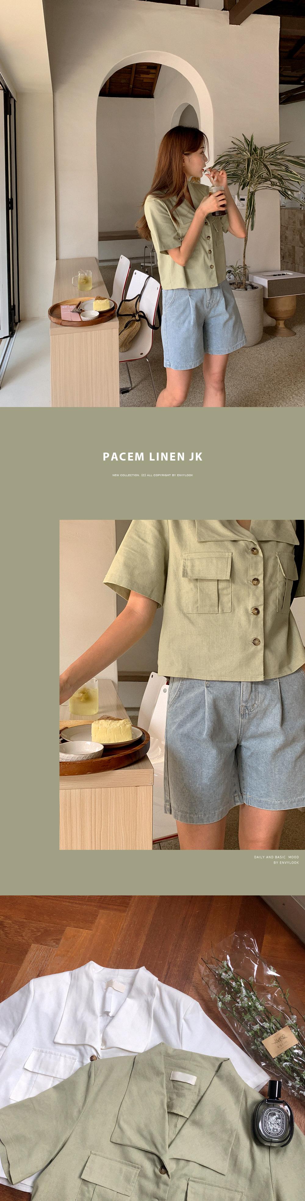 Little Up Pintuck Denim Shorts