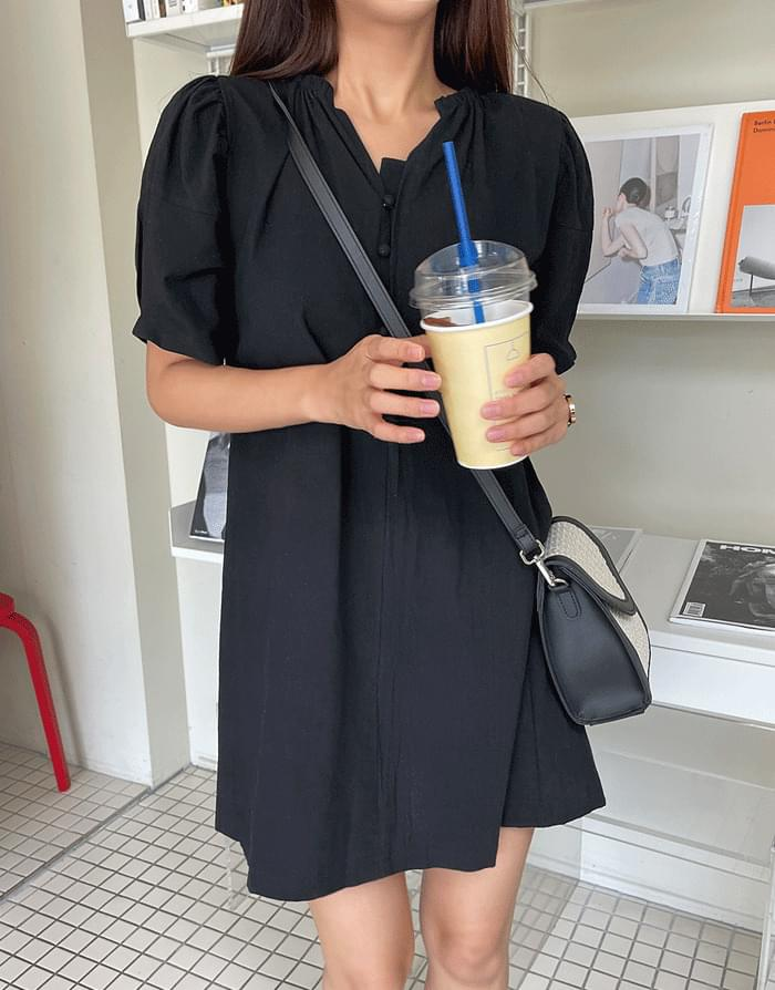 Putty puff mini Dress