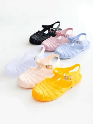 Wearable Jelly Strap Sandals 2cm