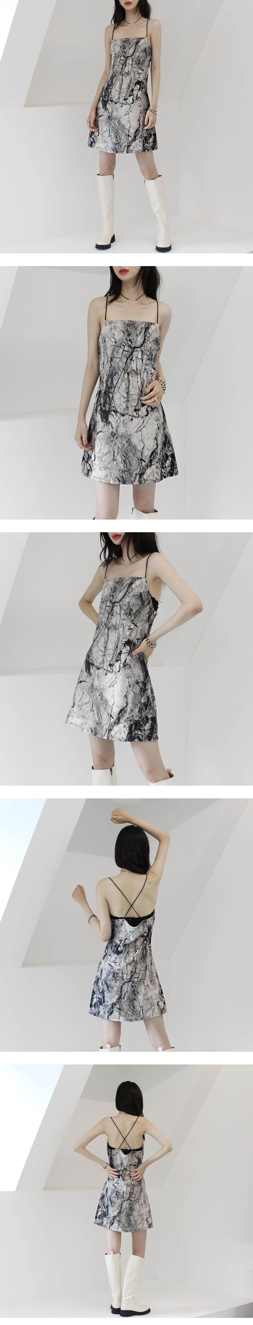 Panic cross strap Dress