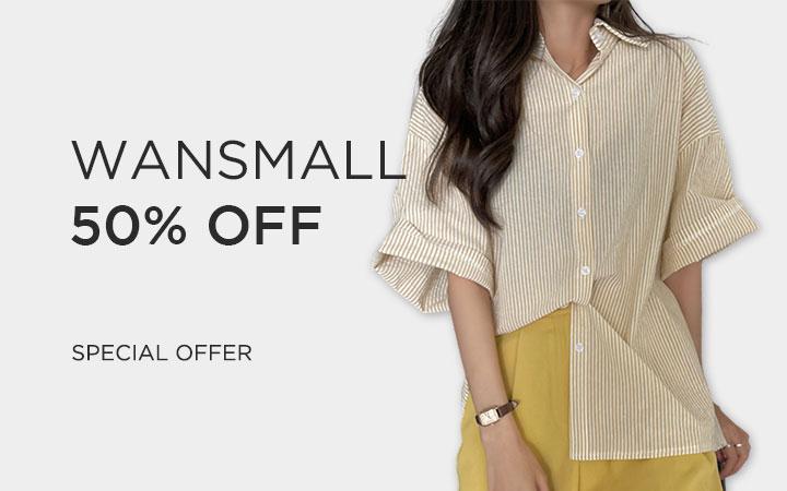Wansmall 50% OFF