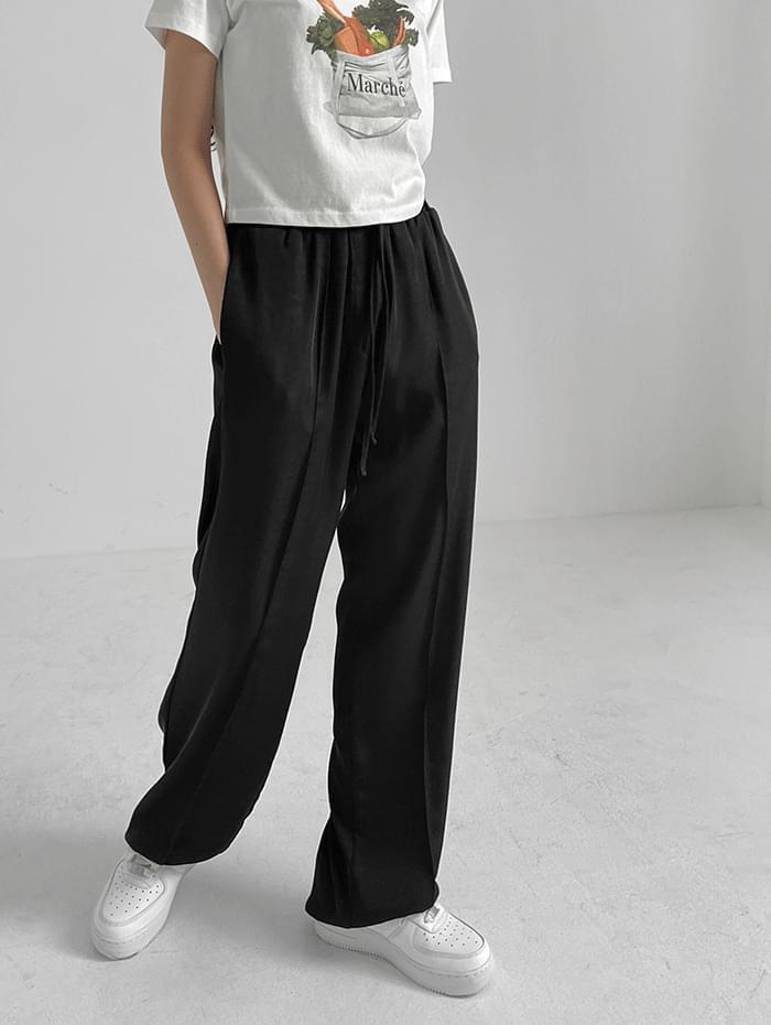 more banding long trousers
