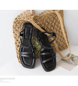 Strap Banding Sandals #86630