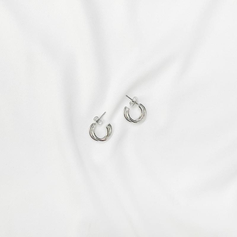 Miller Double Ring Earrings