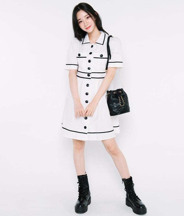 ivy line point Dress