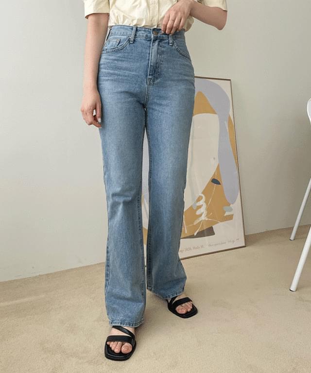 Big size 26-34 inches vendors slim Flared denim pants