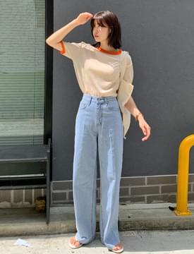 Modern Wide Denim Pants