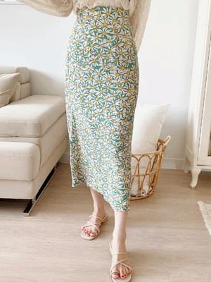 Sheel Flower Skirt
