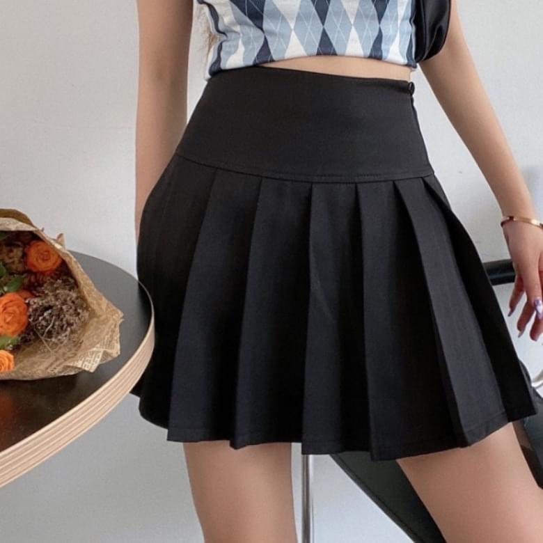 Daily Pleated Tennis Pleated Skirt