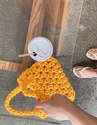 Bulky*Knitting Mini Bag