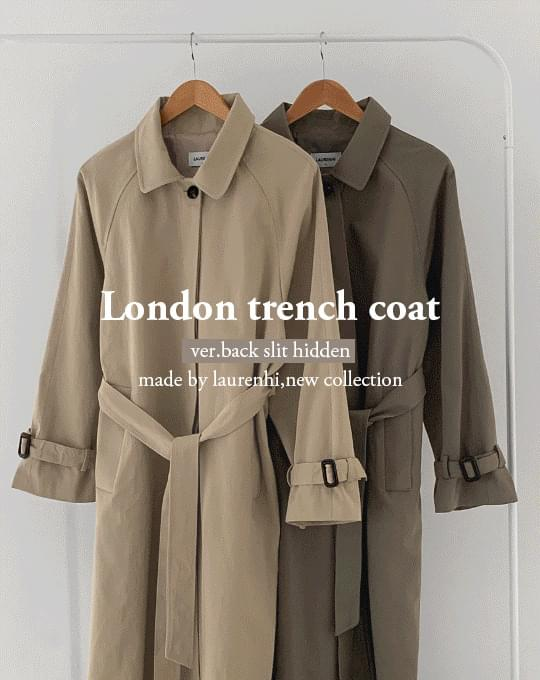 London Trench Coat - 3 color