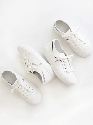 Gentle Leather Sneakers 3cm