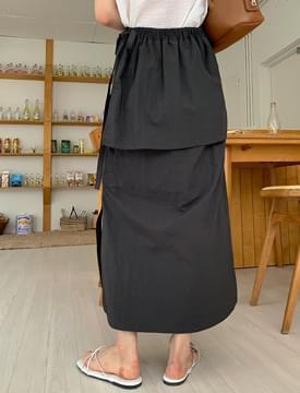 Clash Cooling Wrap Long Skirt