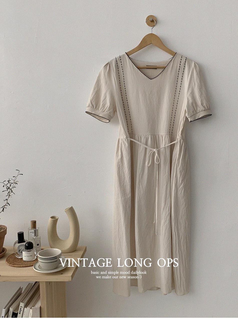 le rople embroidered Dress