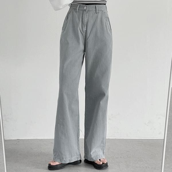 gray wide pants