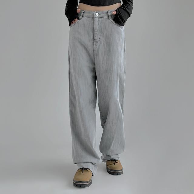 Matthew wide denim trousers