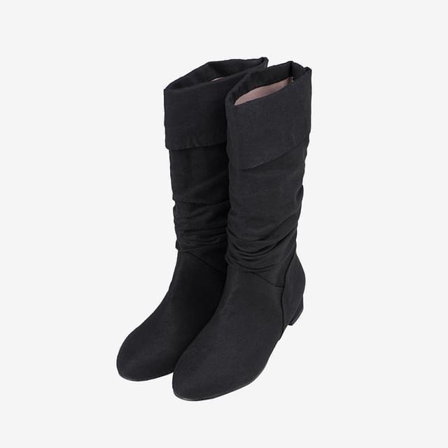 Kenny Linen Half Boots