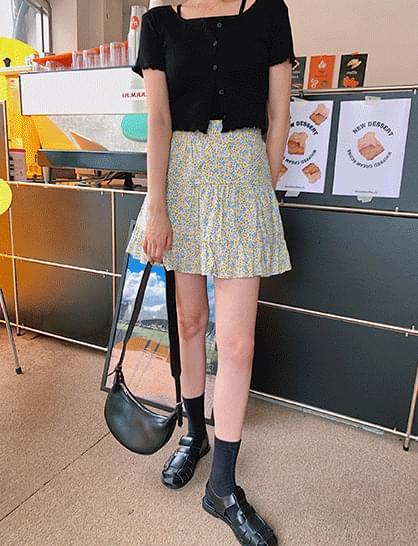 Lobelia flower skirt