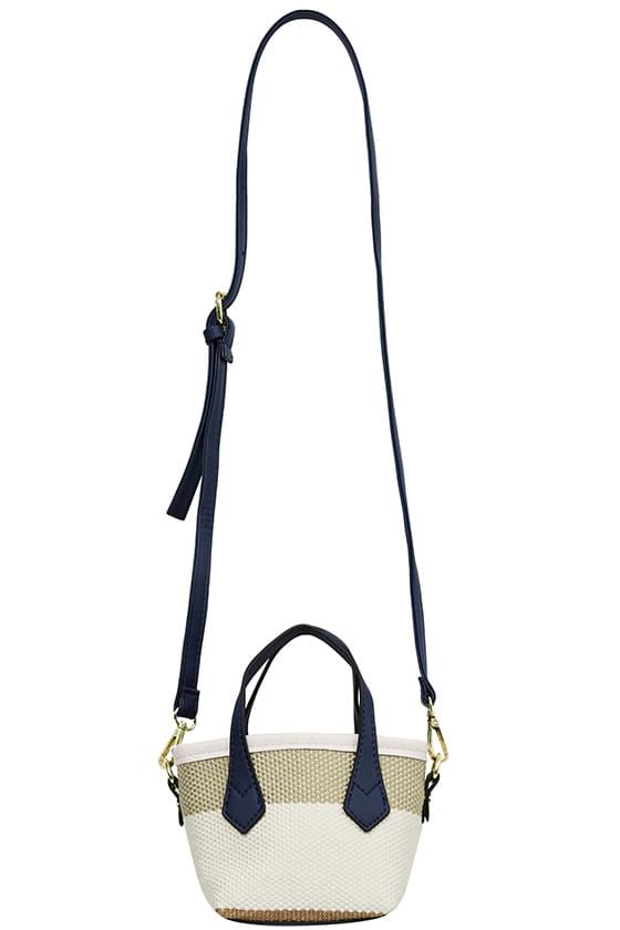 bet color mini two-way tote bag