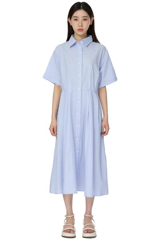 Vivian Stripe Long Dress