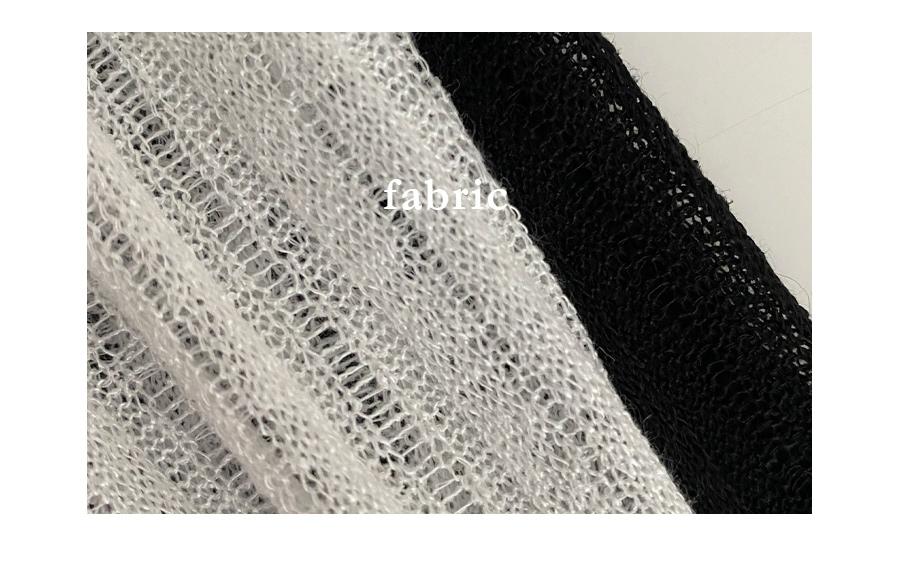 Unfooted Ribbed Bolero Style Cropped Knitwear