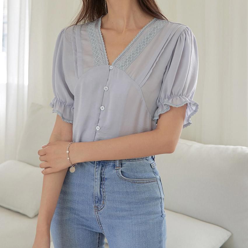 Adele lace blouse 襯衫