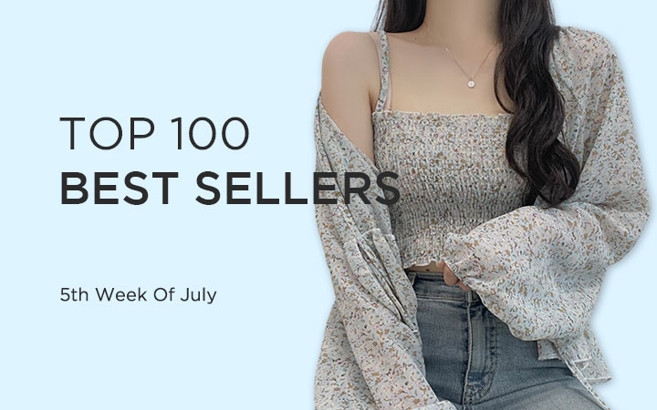 TOP 100 BEST SELLERS - 5th Week Of July