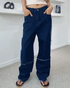 Western Stitch Denim Wide Pants