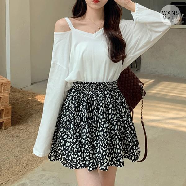 sk5431 ribble banding mini skirt